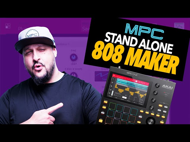 How I Make CUSTOM 808s and Glides in STANDALONE! | MPC ONE | MPC LIVE | Beatmaking Tutorial | MPC X