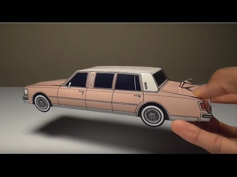 2016 Lincoln Town Car >> JCARWIL PAPERCRAFT 1978 Cadillac Seville Limo (Building ...