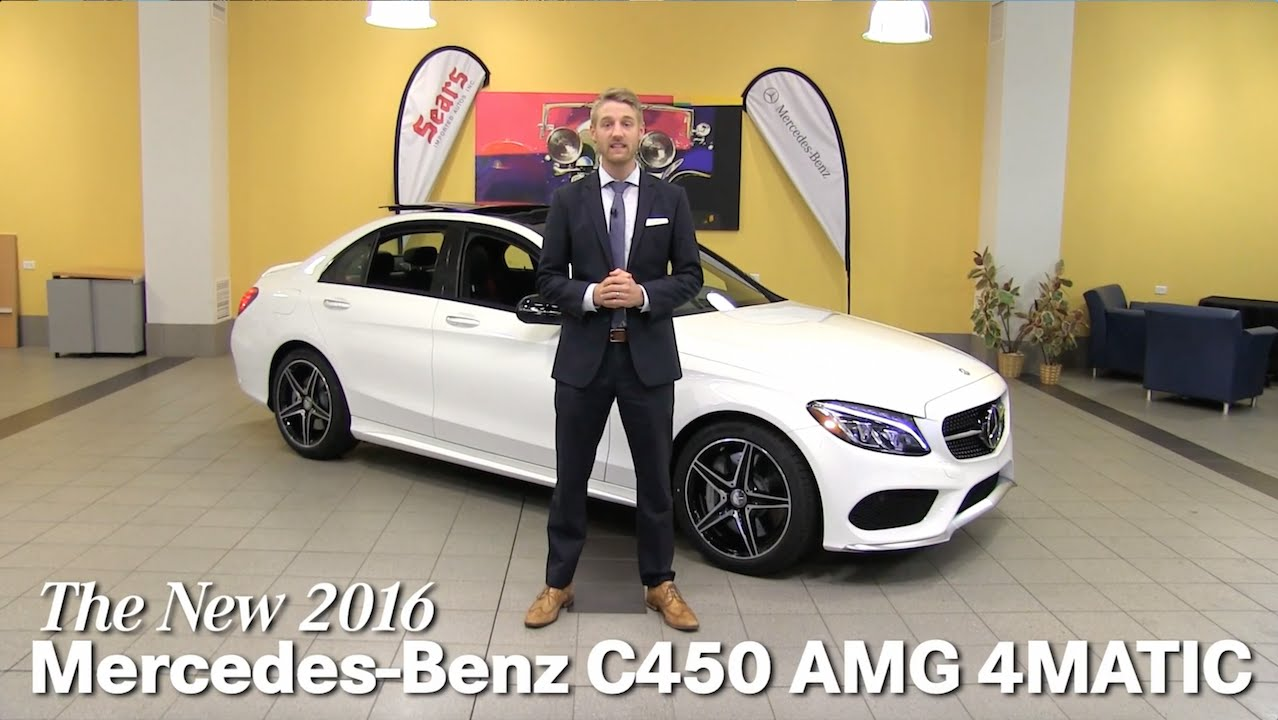Review new 2016 mercedes benz c450 amg 4matic c class for Mercedes benz bloomington mn