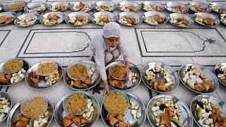 Кормление бедняков - Рамадан 2016