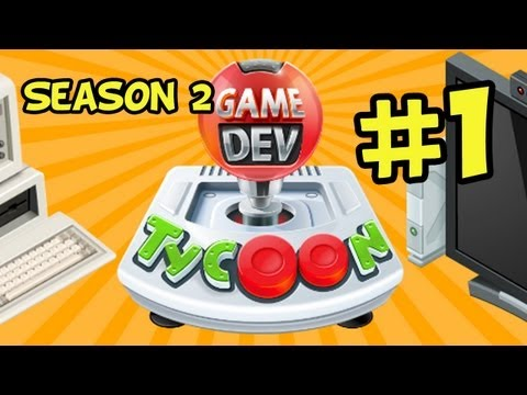 Game Dev Tycoon Walkthrough - Part 1 - The Basement Season 2