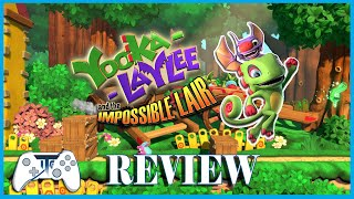 Yooka Laylee and the Impossible Lair Review - Switch (Video Game Video Review)