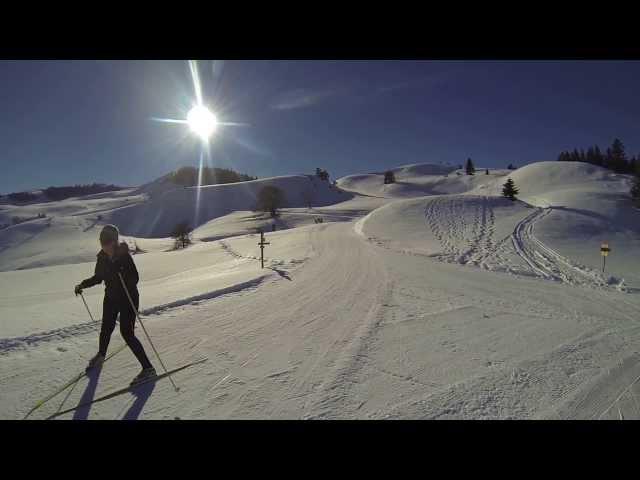 Ski de fond  au domaine du Chioula