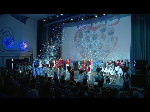 Торжественное собрание в честь 50-летия города Краснокаменска