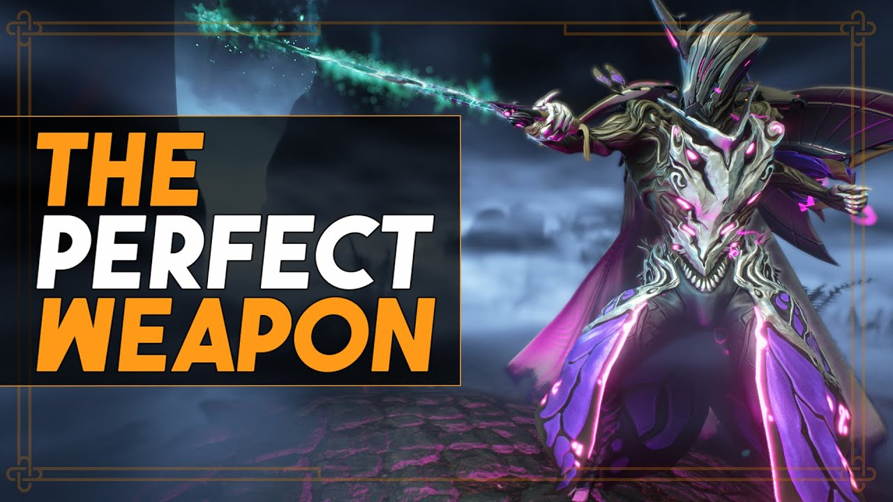 Warframe: The Perfect Weapon - My Forehead Is A Beast thumbnail