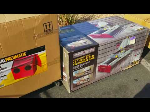 Harbor Freight Friday Parking Lot Sale (2018)