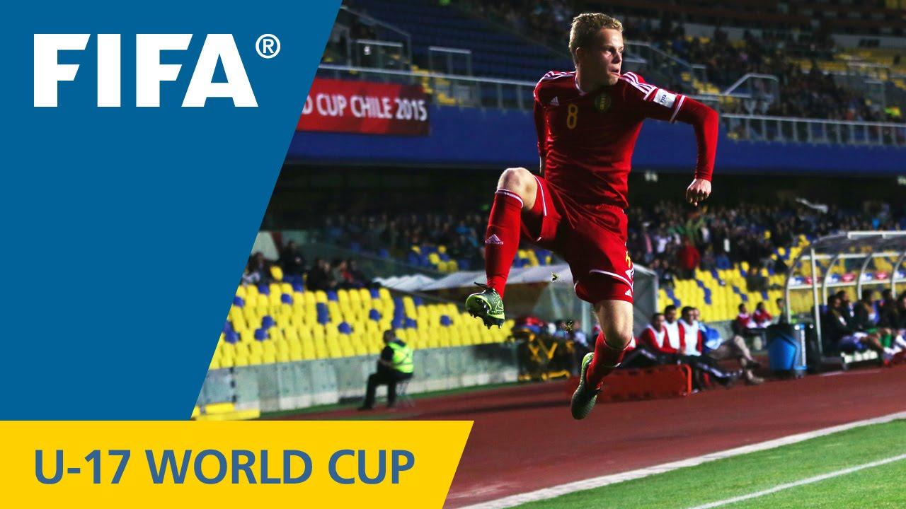 Highlights Belgium V Costa Rica Fifa U World Cup Chile