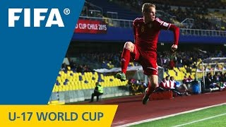 Highlights: Belgium v. Costa Rica - FIFA U17 World Cup Chile 2015