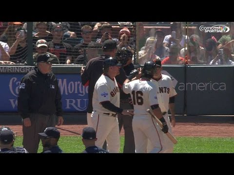 SEA@SF: Pagan ejected after disputing call
