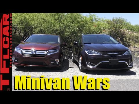 2018 Honda Odyssey vs Chrysler Pacifica Minivan Matchup Review: The Minivan Wars Are Back!