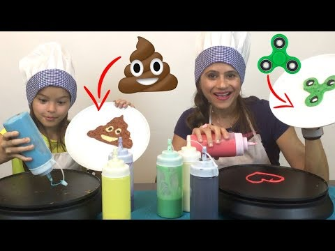 Mystery wheel of halloween glove slime challenge