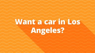 Bad credit auto financing for subprime car buyers in Los Angeles CA