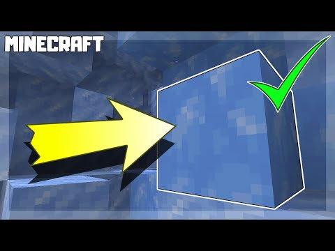 MINECRAFT | How to Get Blue Ice! 1.16.1