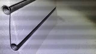 изготовление камерной печи до 1200С часть 5. Спирали