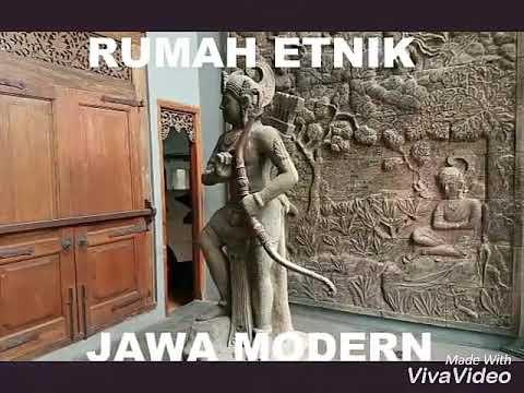 Rumah Etnik Jawa Modern - Cipete Selatan Jakarta - (Dijual) property agent : 081214635025.