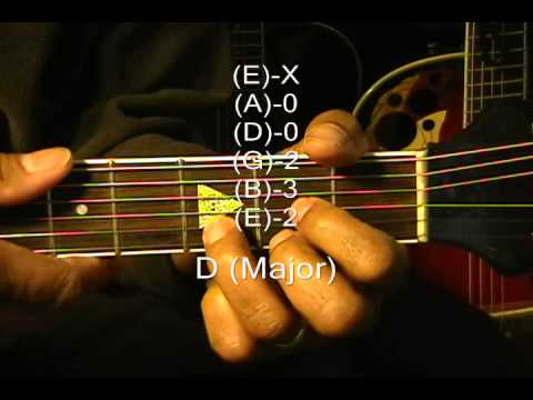 Guitar Chord Form Tutorial #143 Grease Style Chords Lesson EADGB Majors