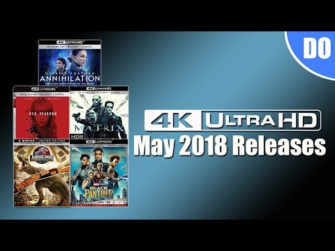 May 2018 4K Ultra HD Bluray Releases