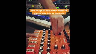 """Doom Eternal TAG - Behind the Score - """"(New) Menu Music Synth Lead"""" 