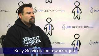 Kelly Services Interview - Temp Worker