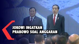 """Tegas! Jokowi Ingatkan Prabowo: Tak Boleh Ada """"Mark Up"""" Anggaran"""