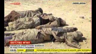 Сирия. Боевики ИГ терпят поражение...