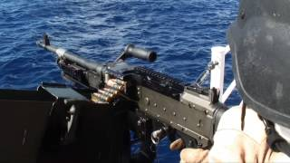 Day 9: Cutter Dallas gunnery exercise