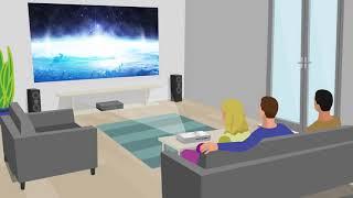 1EPSON EB-X05 3300L XGA 1024x768 סרטון חברת אפסון