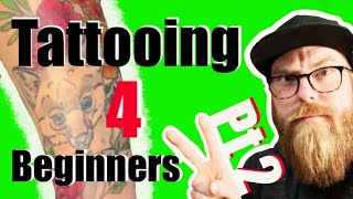 Tattooing for Beginners: ?How to tattoo color and more! ?Part 2