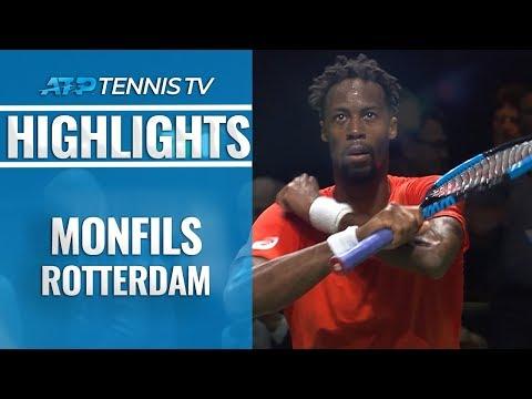 Gael Monfils Brilliant Points vs Goffin | Rotterdam 2019