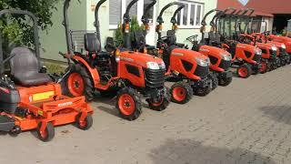 Sprzedaż nowych traktorków kosiarek Kubota. www.maxland.pl