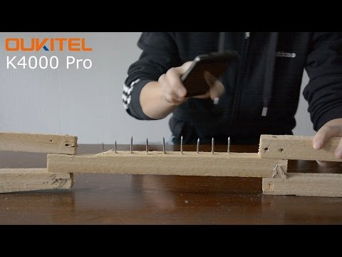 Knock nails INTO and OUT of Wood - K4000 Pro Screen Challenge