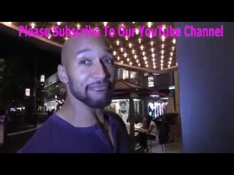 Henry Simmons talks about if Superman got a earth woman pregnant at The Grove in Hollywood