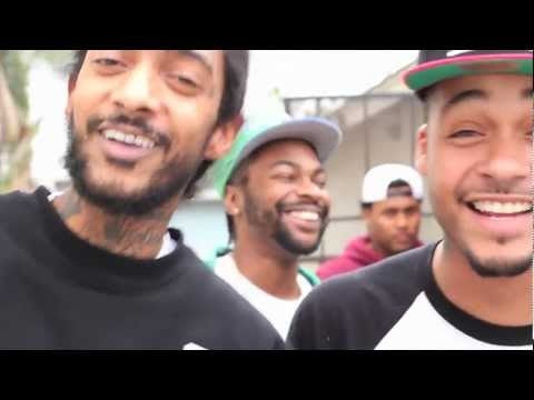 David Cash & Nipsey Hussle - Behind Walls (Studio Session) [Label Submitted]