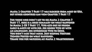Mafia II 2 CH 7 Walkthrough Part 17