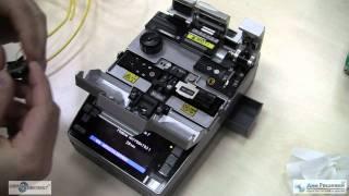 Смотреть видео Сварка оптических волокон