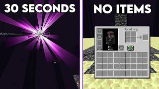 Minecraft's Most Incredible Speedruns