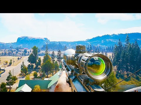 FAR CRY 5 - 12 Minutes of Gameplay Demo (PS4 XBOX ONE PC) Developer Walkthrough 2017