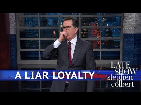 Image result for michael cohen loyalty