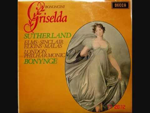 Monica Sinclair - Affetto gioia e riso - Griselda - G. Bononcini