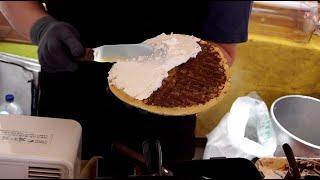 생크림 와플,6가지맛!,반반 생크림, 누텔라 와플 - …