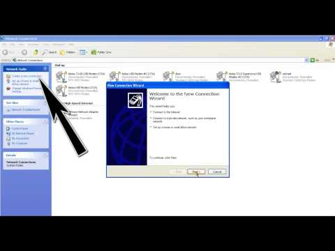 Connect to Internet without PC Suite Using Windows Xp Phone and Modem Options
