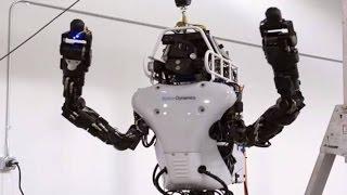 Atlas - самый сложный и самый совершенный гуманоидный робот на сегодняшний день