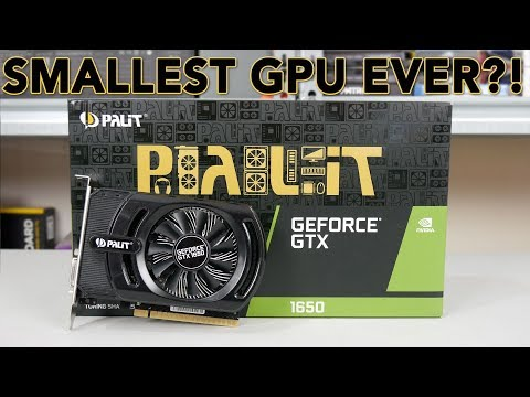 Palit GTX 1650 StormX OC Review - It's a tiny card, but is it GOOD?
