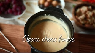 How to make classic cheese fondue   recipe video
