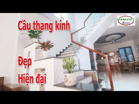 Cầu thang kính - Mẫu cầu thang kính đẹp nhất năm 2020 | The best glass staircase model in 2020