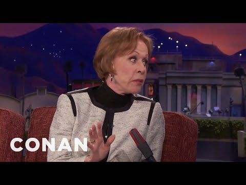 """Carol Burnett Apologized For Her Performance In """"The Front Page""""   CONAN on TBS"""