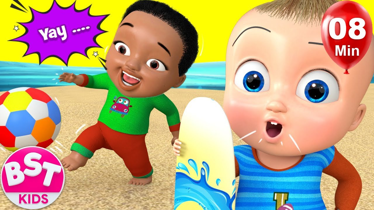 Beach Songs for kids |+More BST Kids Songs & Nursery Rhymes