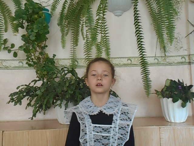 Изображение предпросмотра прочтения – СофьяБаранникова читает произведение «Стрекоза и Муравей» И.А.Крылова