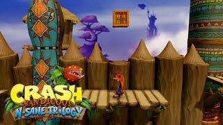 Crash Bandicoot N. Sane Trilogy | Crash Bandicoot 1 - Native Fortress Gameplay