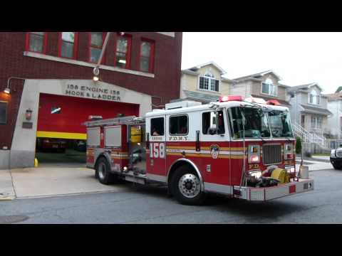 FDNY Engine 158 goes out for chow